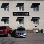 Lenz kiropraktik och rehab parkering